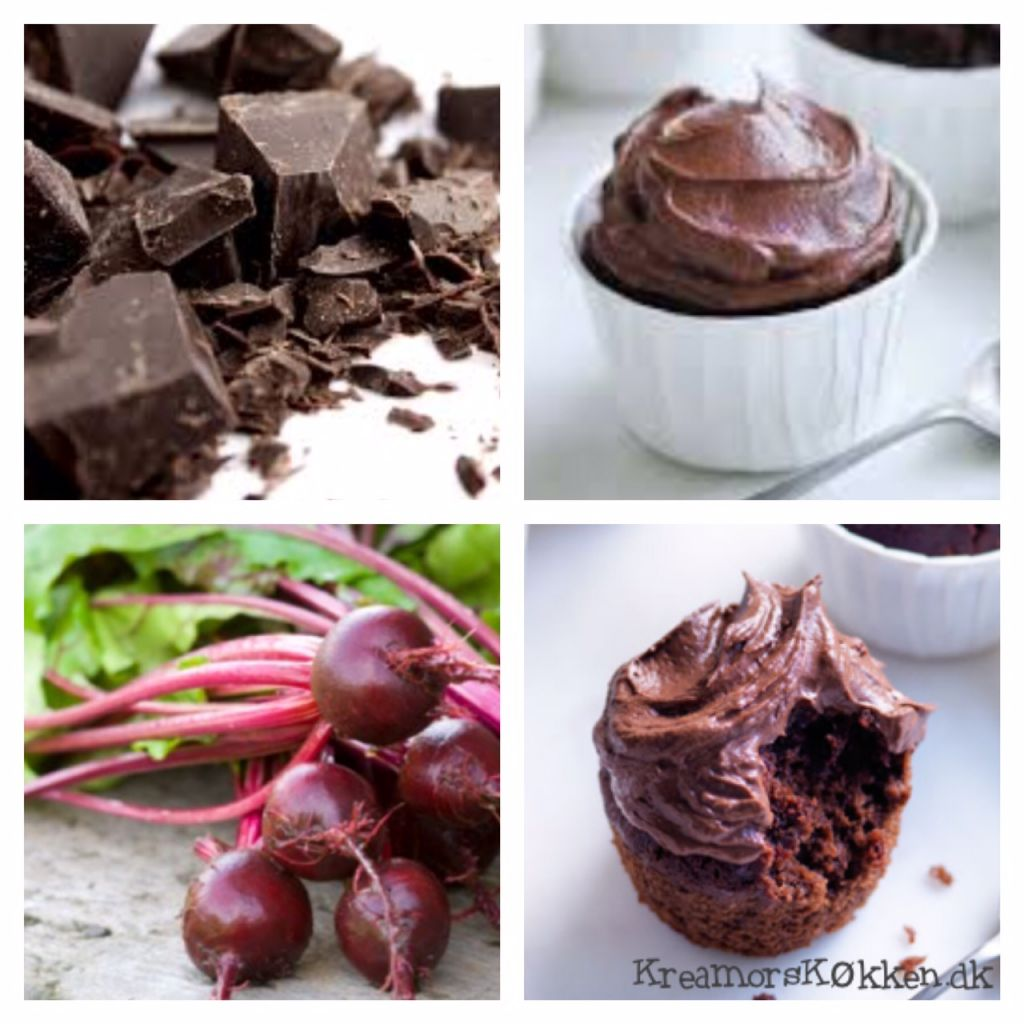 chokolade,rødbede,cupcake,kage