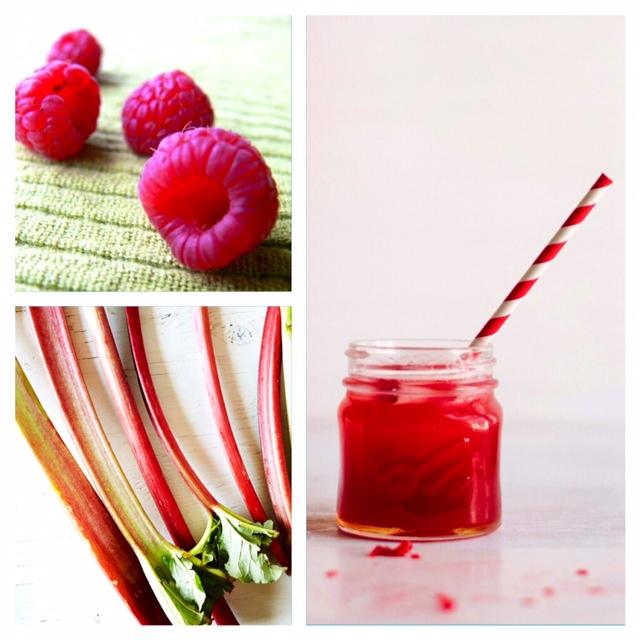 Hindbær saft