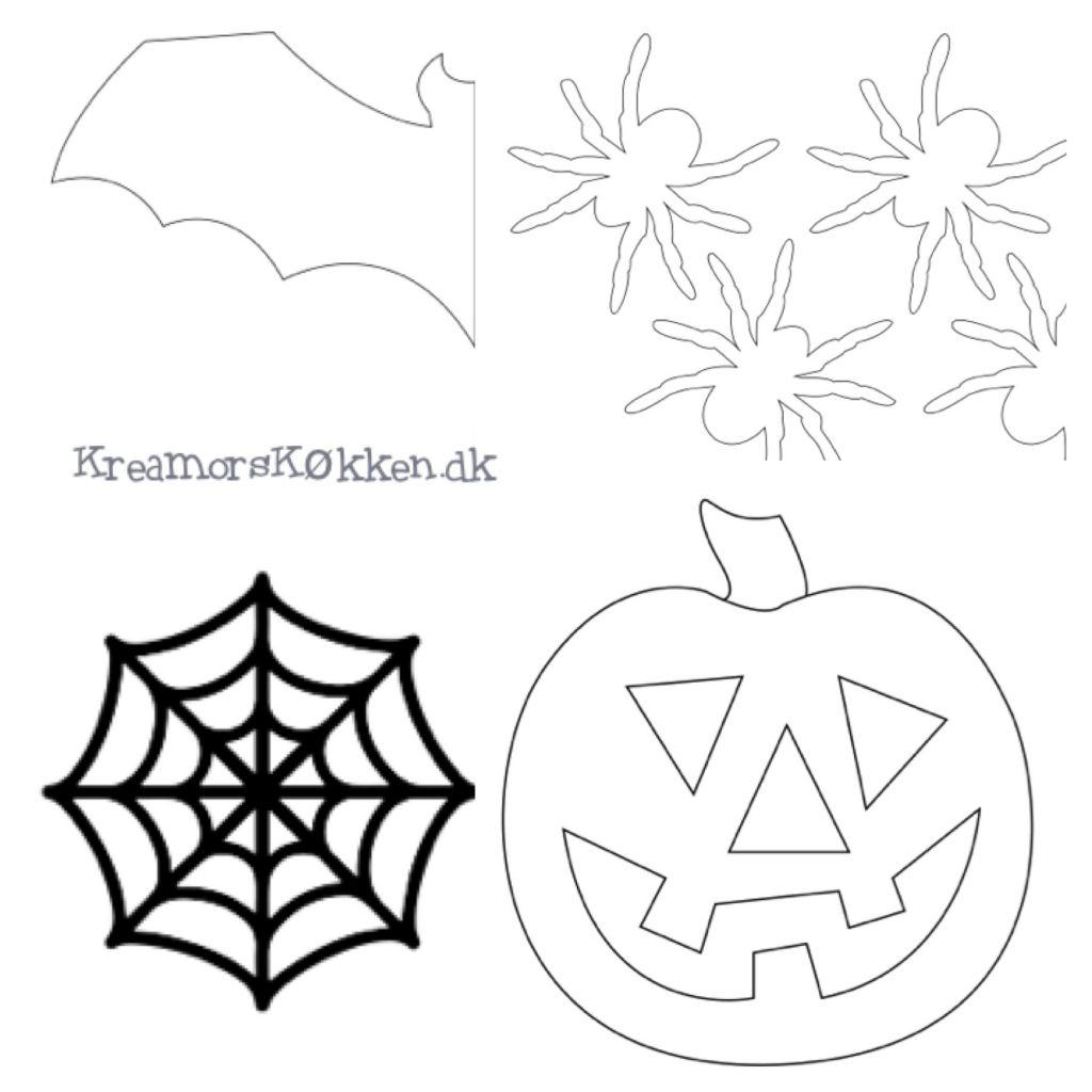 Skabeloner til halloween