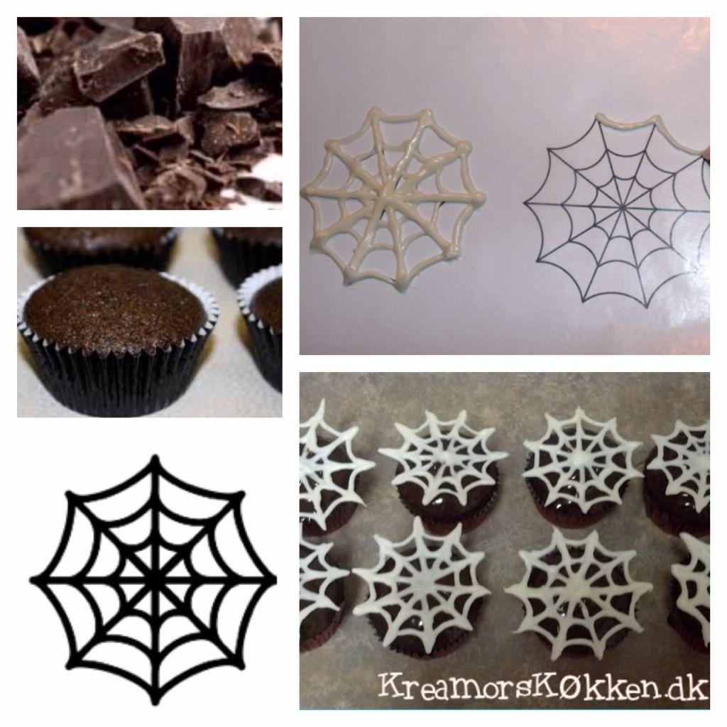 spindelvæv, cupcake