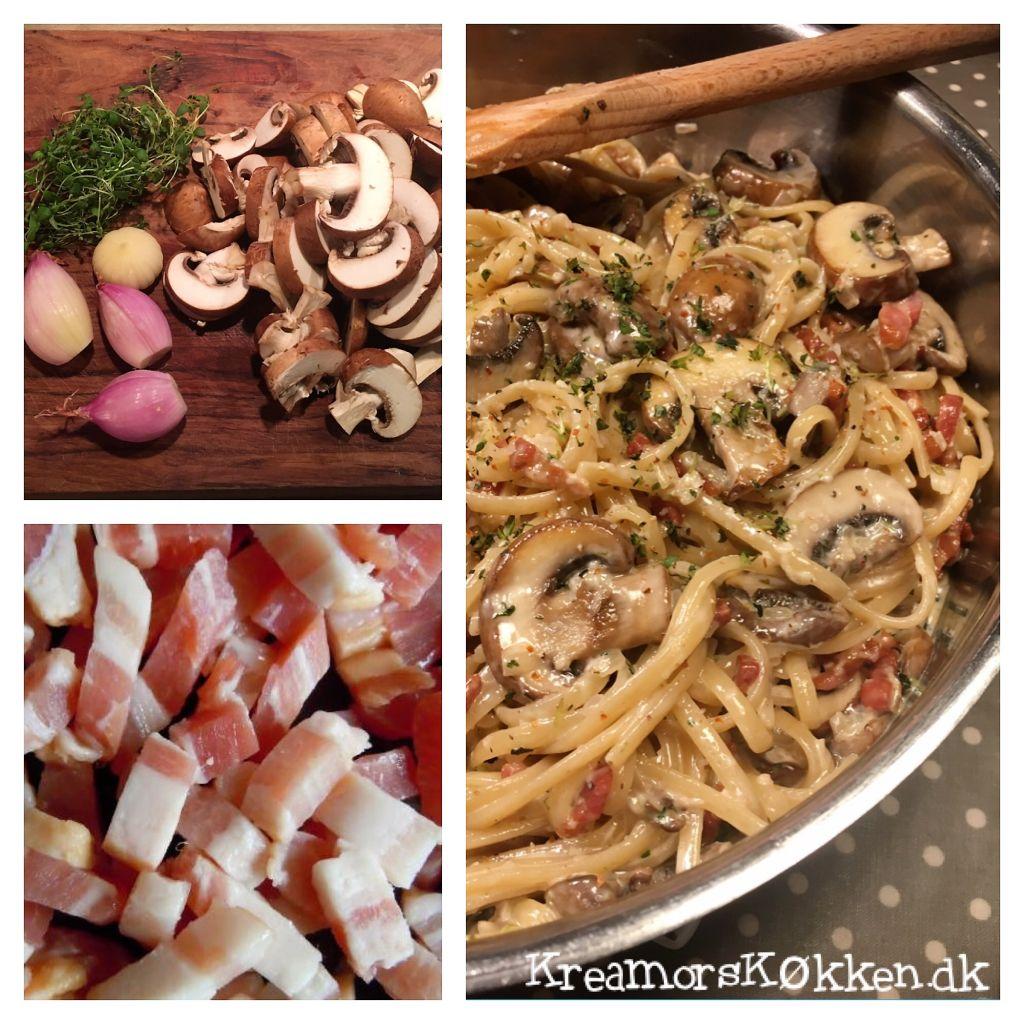spaghetti-med-svampe